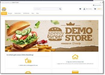 """Bild vom Demo-Shop """"Speedyburger"""""""