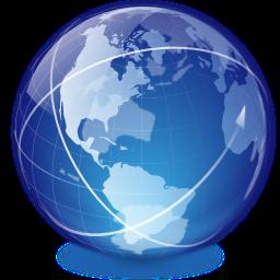 Online-Signatur Weltkugel