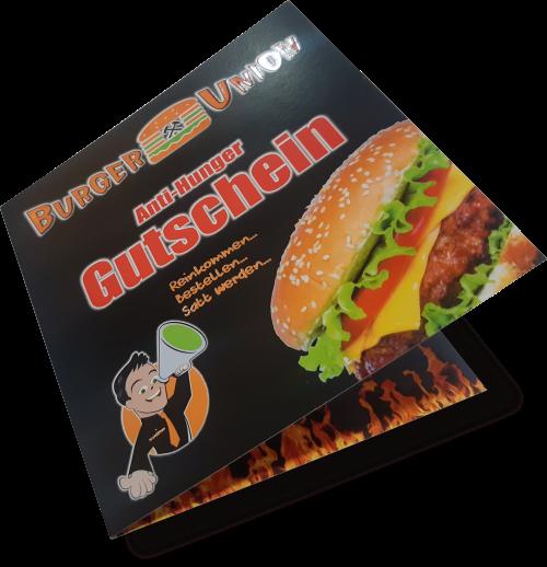 Gutscheinkarte von Burger Union