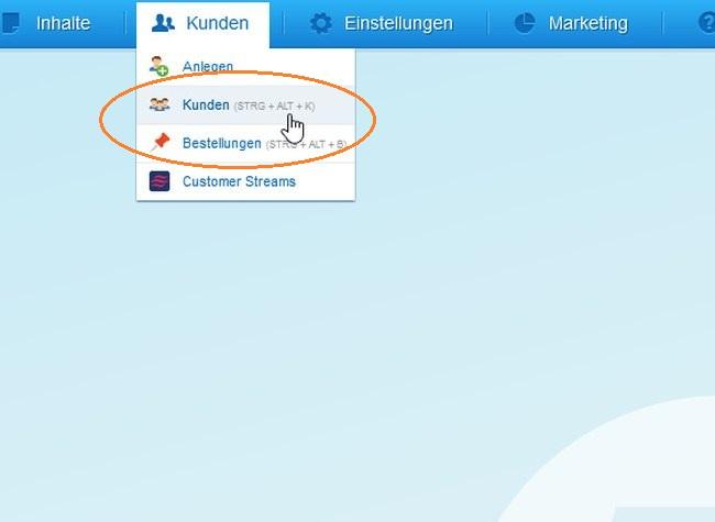 Popup von Shopware 5: Kunden und Bestellungen