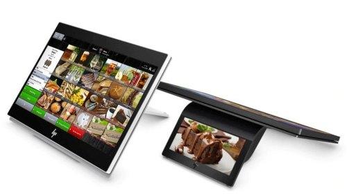 HP Engage One Prime Kassensystem in schwarz und weiß