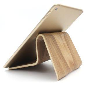 Tablethalterung aus Holz