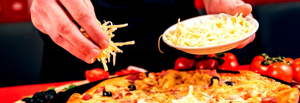 Pizza Spezial wird belegt.